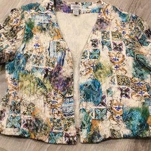 ⭐️ Chico's~~Silk Jacket~ ⭐️